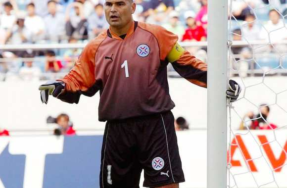 Jose Luis Chilavert, en 2002