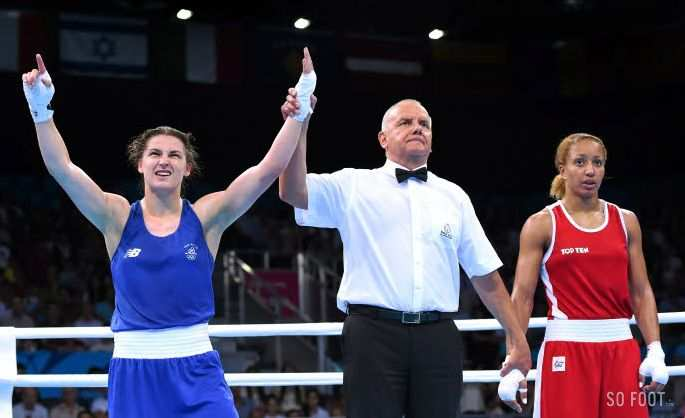 Katie Taylor switch