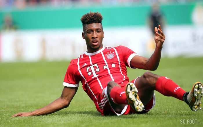 Kingsley Coman condamné pour violences conjugales
