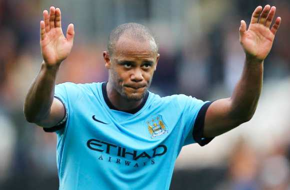 Kompany, en train de se rendre