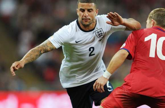 Kyle Walker, international anglais
