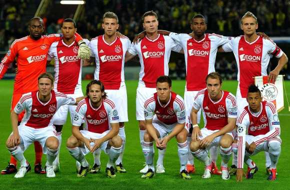 L'Ajax, une belle photo de famille