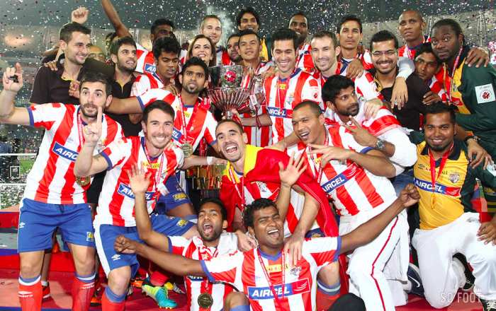 L'Atletico Calcutta, champion.
