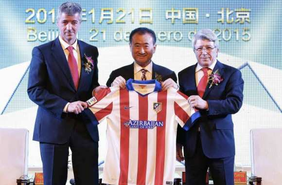 L'Atlético de Madrid accueille la Chine dans son capital
