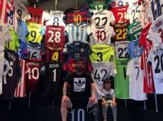 L'impressionante collection de maillots de Messi