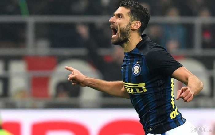 L'Inter prend son quart