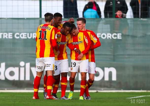 L2 : Lens s'impose au finish