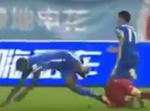 La blessure horrible de Demba Ba