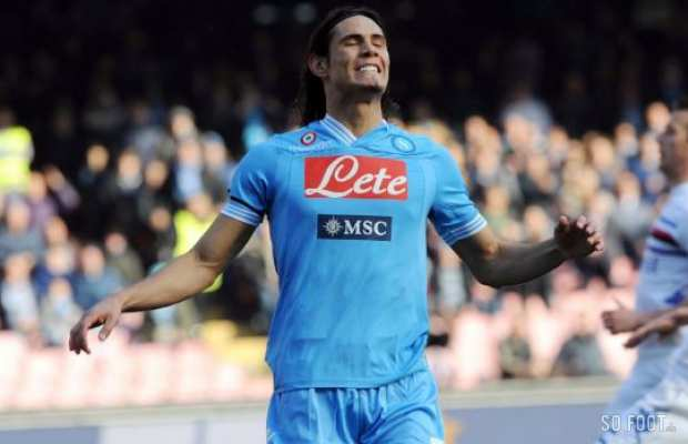 La d�ception de Cavani (Cr�dits : LaPresse)