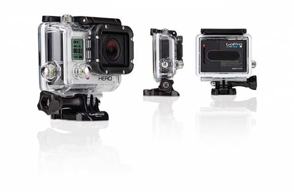 La GoPro HD Hero 3 White Edition (199 euros chez PriceMinister)