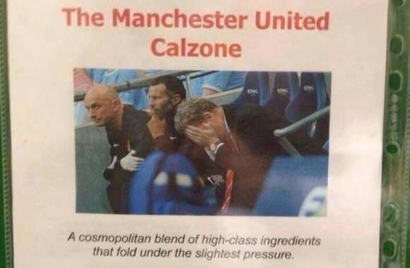 La Pizza Manchester United