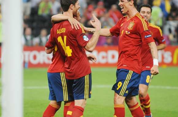 La Roja invincible en demie ?