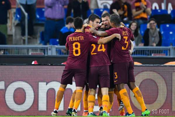 La Roma hurle plus fort que l'Inter