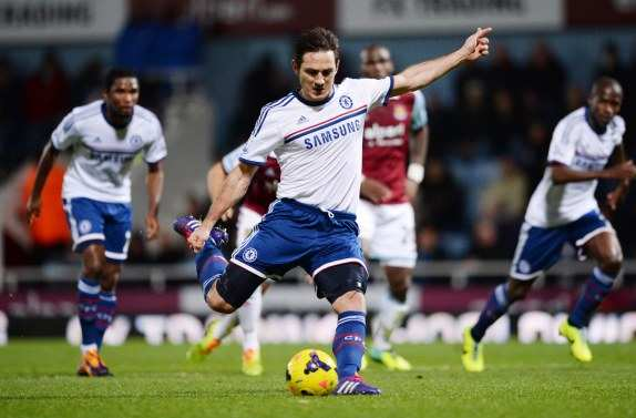 Lampard enfonce West Ham