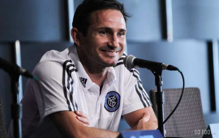 Lampard forfait pour le All-Star Game