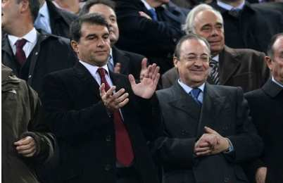 Laporta ironise sur le Real