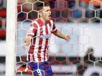 Joie de David Villa (Atl�tico Madrid)