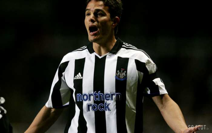 Laurent Robert époque Newcastle United