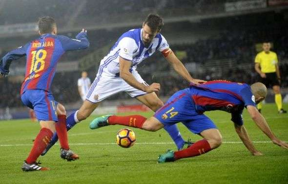 Le Barça vole un point à la Real Sociedad
