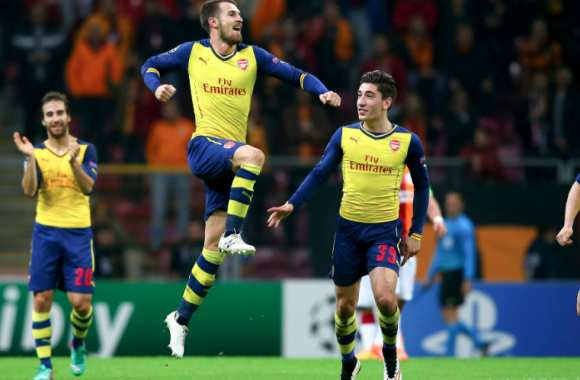 Le but de Ramsey face à Galatasaray figue parmi les dix.