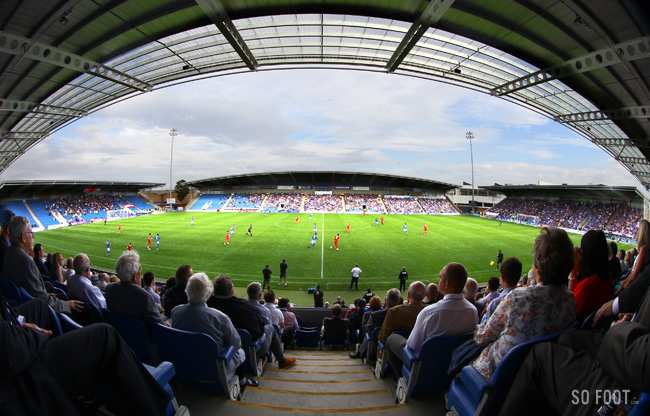 Le capitaine de Chesterfield agressé par des supporters rivaux