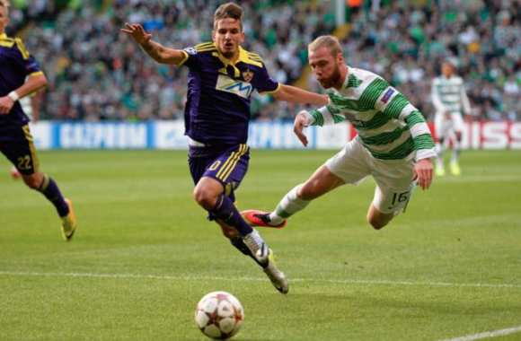 Le Celtic contre Maribor