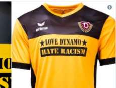 Le Dynamo Dresde ressort son maillot anti-raciste
