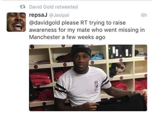 Le fail de David Gold sur Twitter