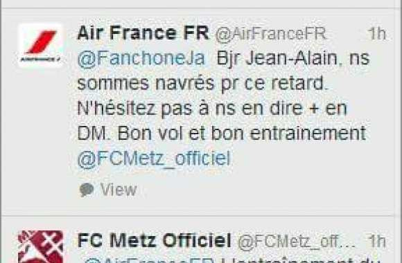Le fail du CM d'Air France