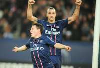 Le groupe du PSG face au Bar�a