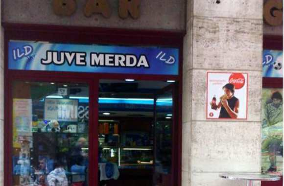 Le Juve Merda (© www.napolitoday.it)