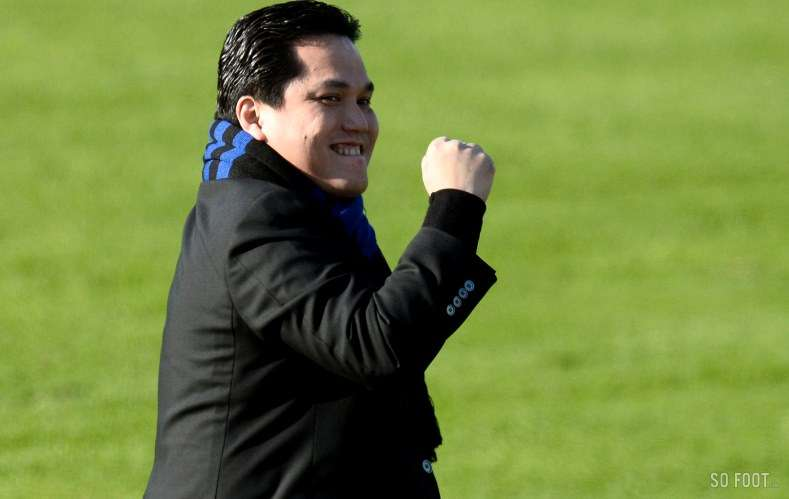 """Thohir: """"I want to take Inter back to competitive level in Europe. Will take two to three years"""""""