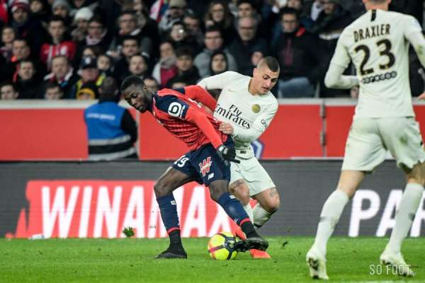 Le LOSC humilie le Paris Saint-Germain