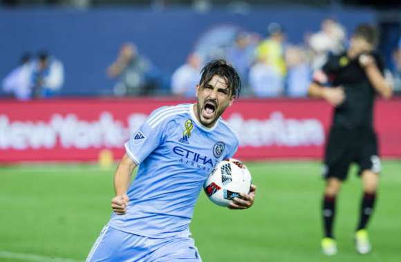 Le magnifique but de David Villa