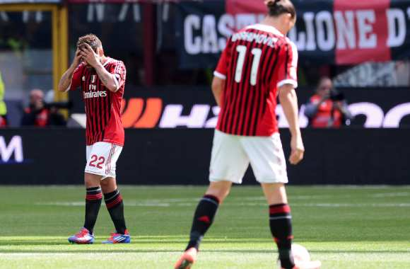 Le Milan AC fait du surplace