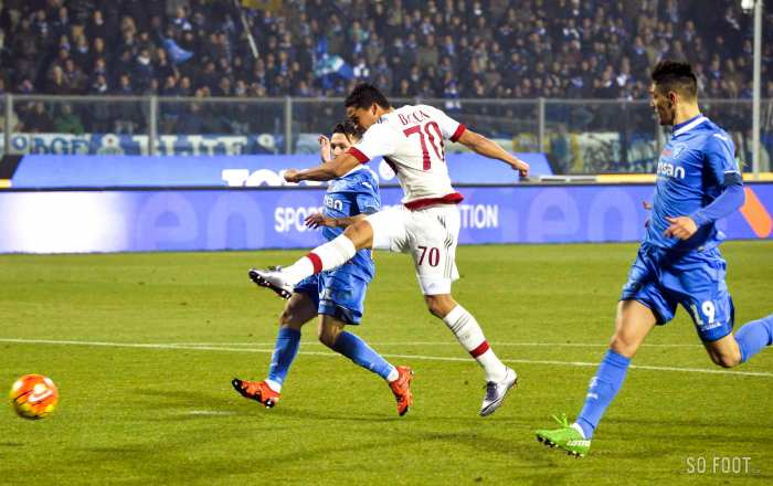 Le Milan laisse filer deux points face à l'Empoli