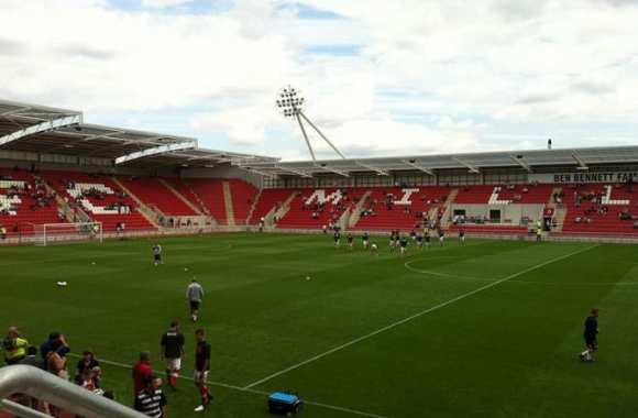 Le New York Stadium de Rotherham