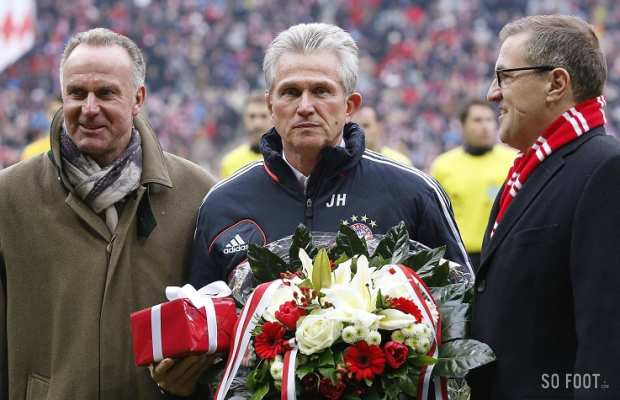 Le pot de d�part de Jupp Heynckes