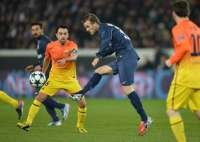 David Beckham (PSG) contre Barcelone