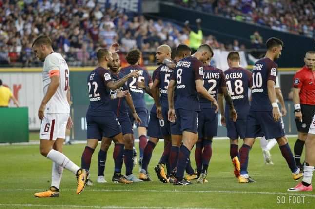Le PSG s'impose timidement face à la Roma
