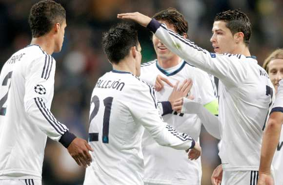 Le Real Madrid, 155 buts en 2012
