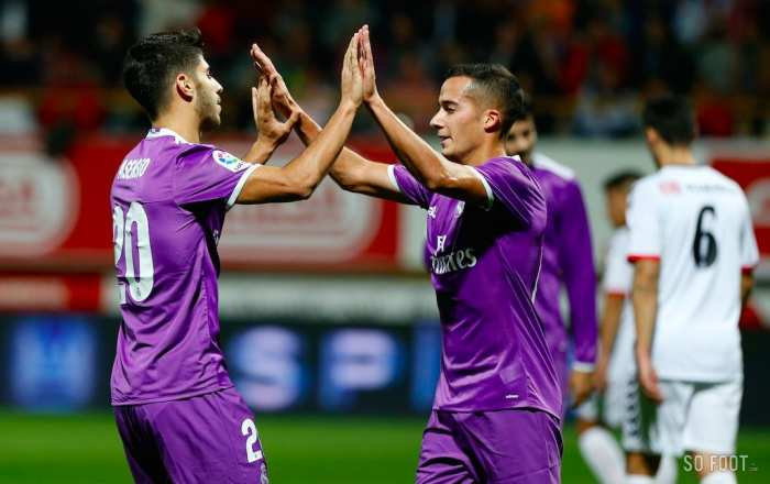 Le Real Madrid facile contre Leonesa
