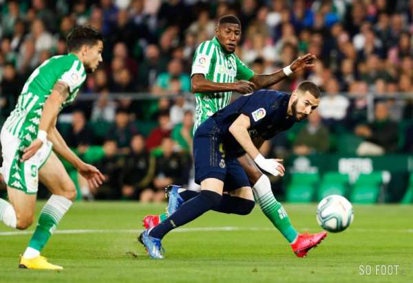 Le Real Madrid s'incline face au Betis