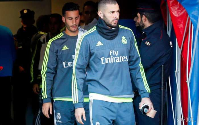 Le Real Madrid soutient Benzema