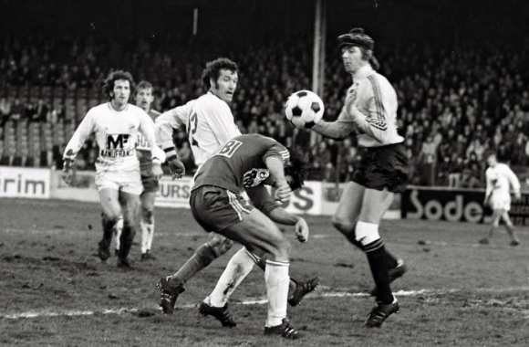 Le Red Star contre Saint Etienne en 1975