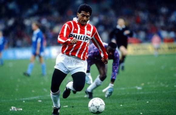 Le Romario d'avant, en collants.