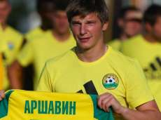 Le superbe but d'Arshavin