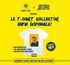 "Le T-shirt ""So Foot Club x Neymar"" enfin disponible !"