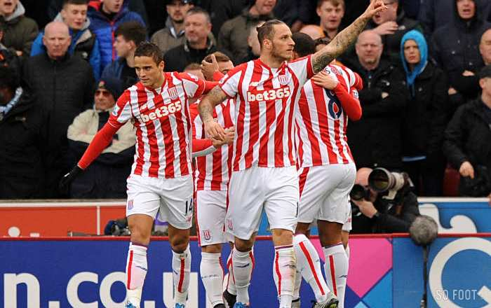 Le triangle d'or de Stoke City