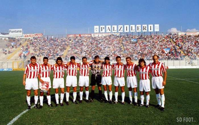 Le Vicenza Calcio officiellement en faillite